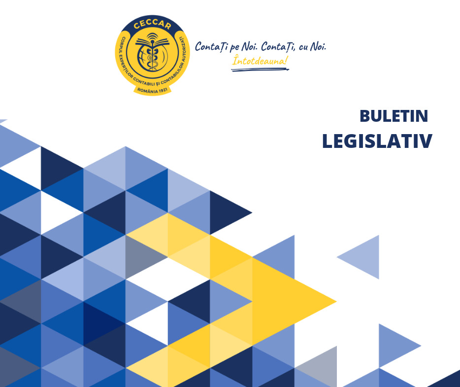 Buletin legislativ CECCAR 15.05.2020